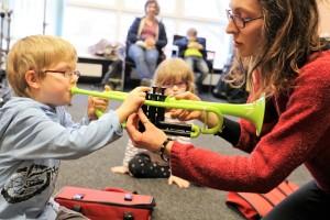 Musikalische Früherziehung an der Orchesterschule KLANGwelt (1)