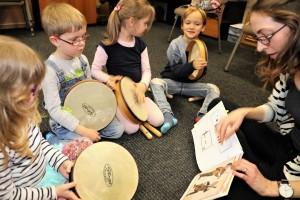 Musikalische Früherziehung an der Orchesterschule KLANGwelt