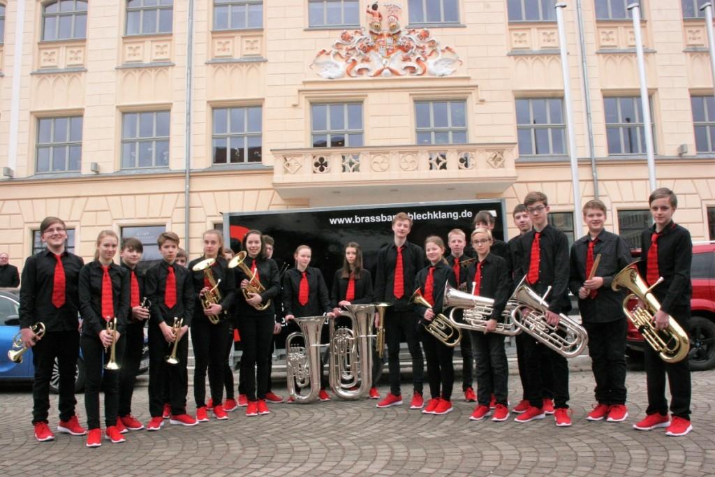 Orchesterausbildung in der Orchesterschule KLANGwelt - Jugend Brass Band BlechKLANG