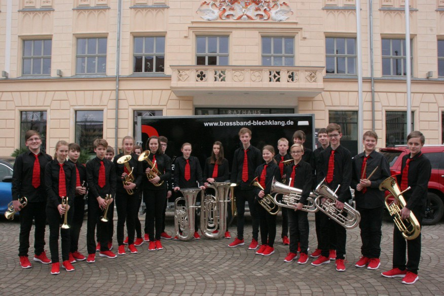 Jugendbrassband KLANGwelt in Zwickau