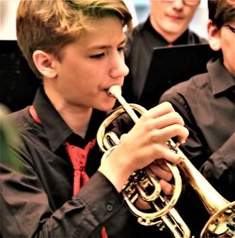 David Schmidt Jugend musiziert Jugendbrassband KLANGwelt