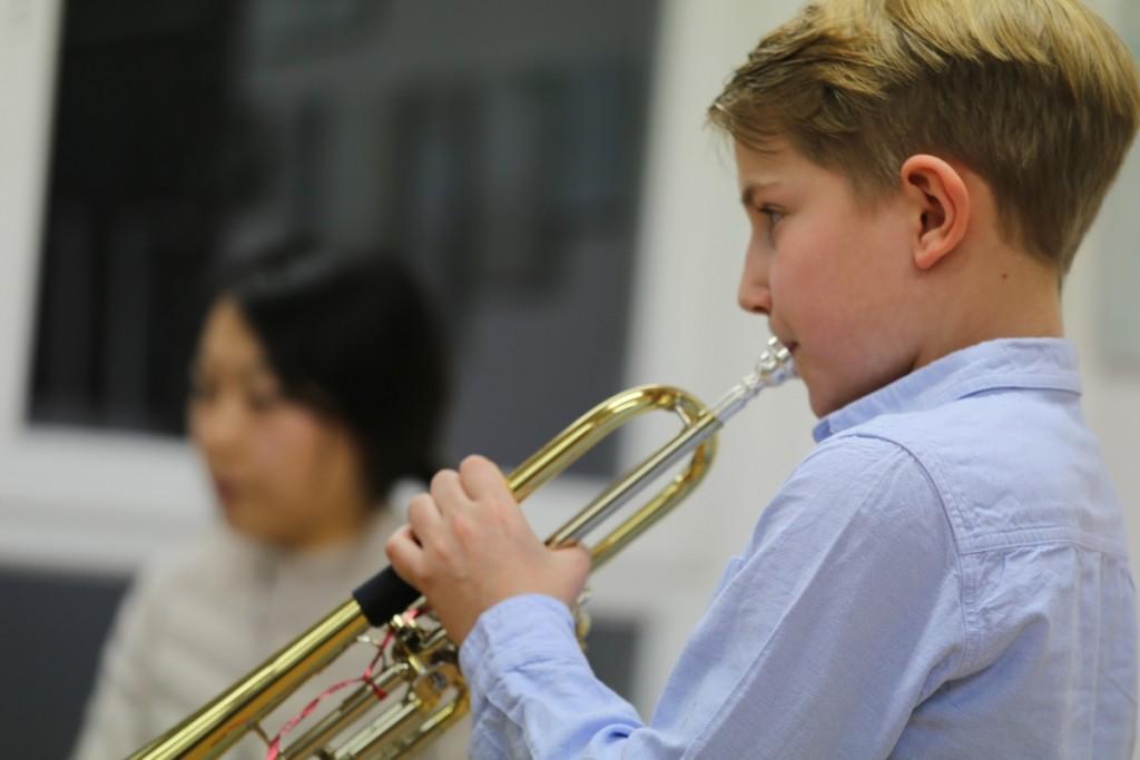 Julian Hempfe war mit 10 Jahren jüngster Teilnehmer am Regionalwettbewerb