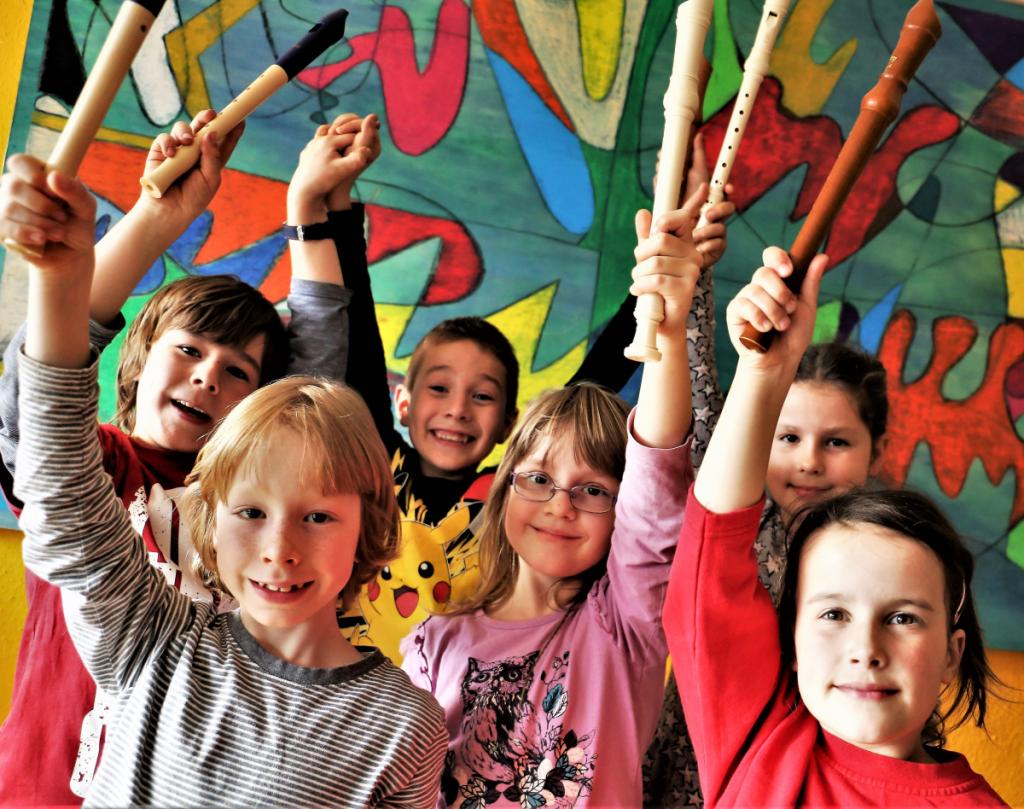 Musikalischer Orientierungskurs in der Orchesterschule KLANGwelt