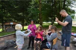 Musikalisches Sommercamp der Orchesterschule KLANGwelt