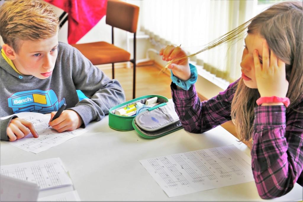 Musiktheorie in der Orchesterschule KLANGwelt