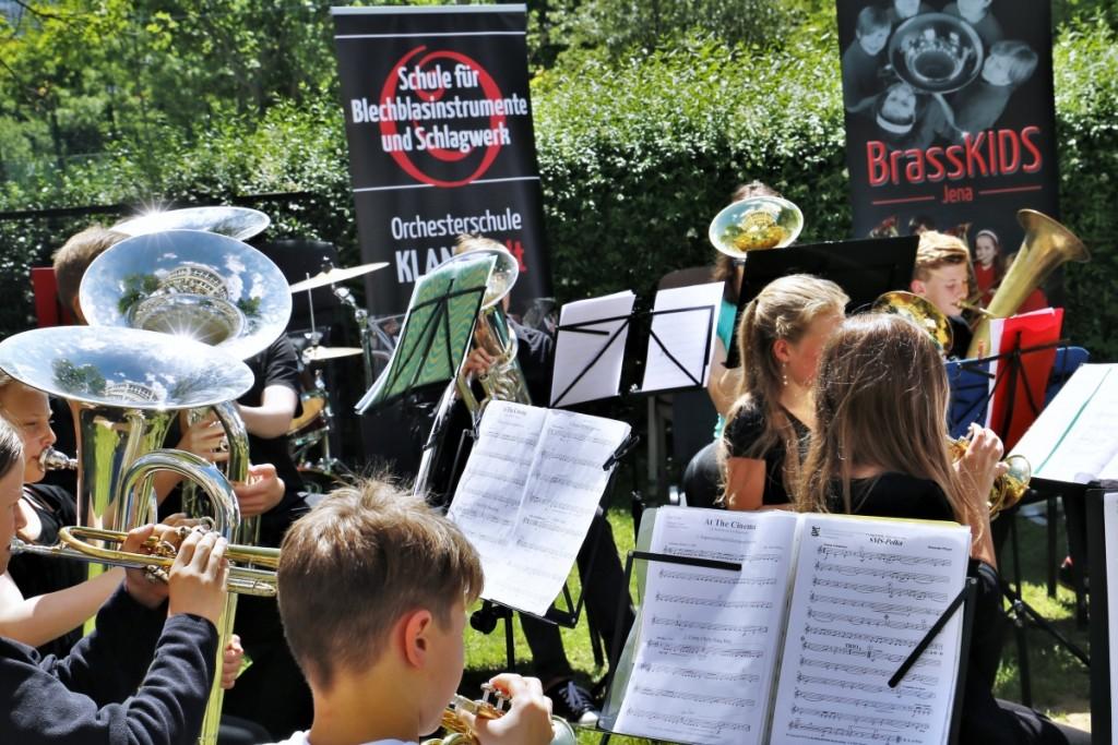 Orchesterausbildung in der Orchesterschule KLANGwelt - Junior Brass Band KLANGwelt