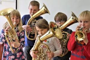 Orchesterausbildung in der Orchesterschule KLANGwelt - Mini Kids