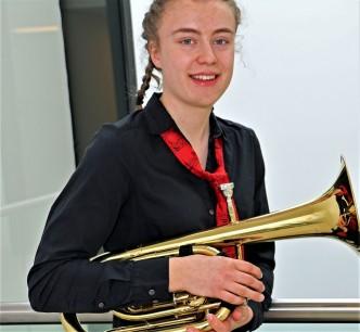 Teresa Fischer aus Jena von der Jugend Brass Band BlechKLANG