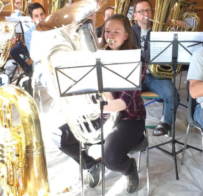 20180412-Internationale Tubatage Grossarl Bericht Kirsten Jugend Brass Band BlechKLANG - Portrait