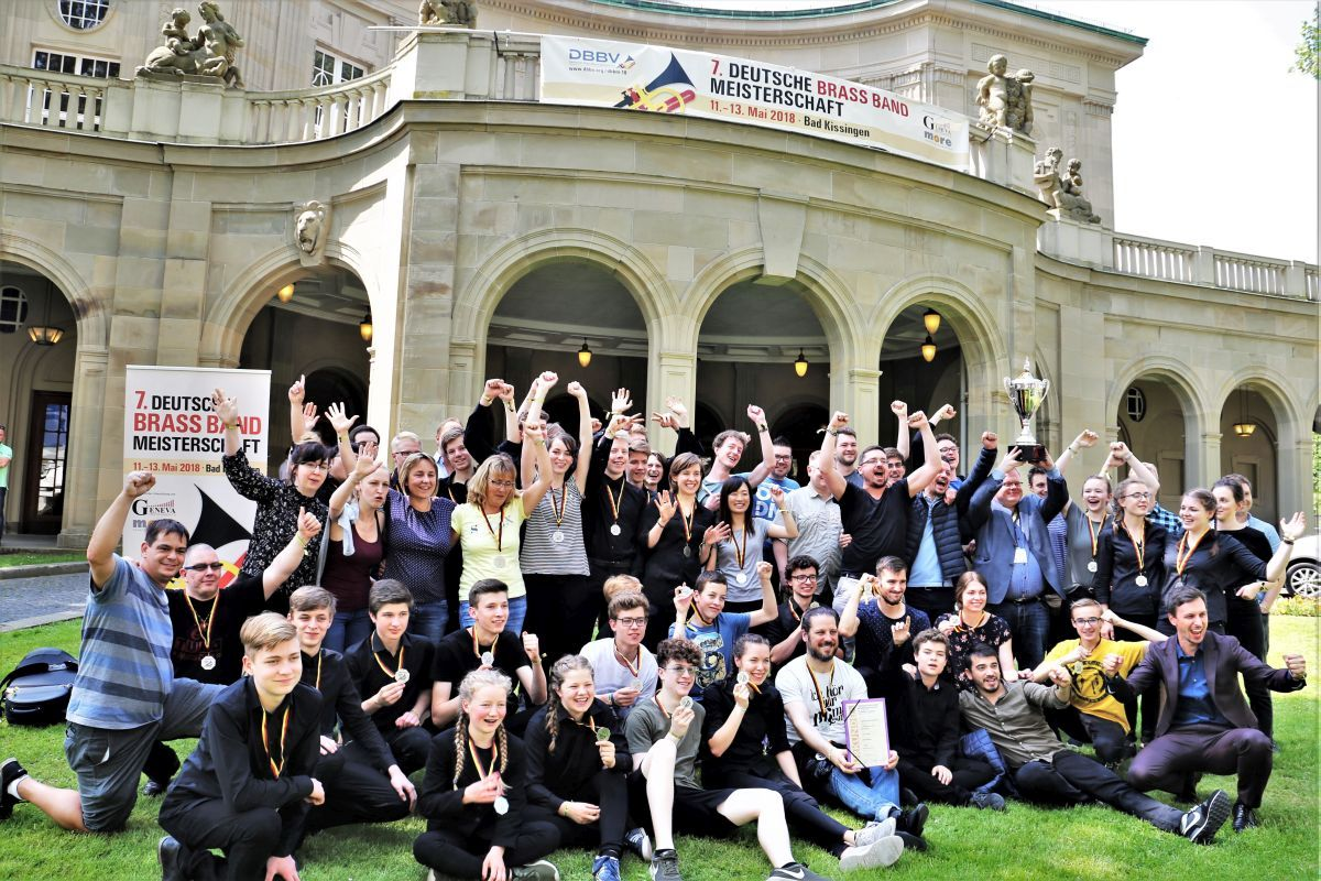 2018 Brass Band BlechKLANG und Jugend Brass Band BlechKLANG bei der Deutschen Brass Band Meisterschaft