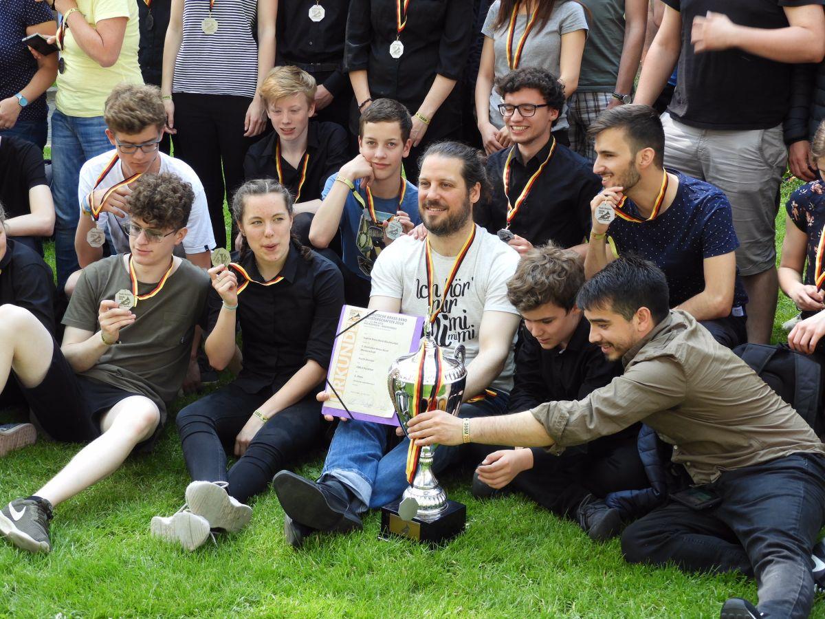 2018 Deutsche Brass Band Meisterschaft Jugend Brass Band BlechKLANG Sieger