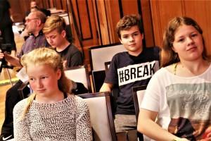 2018 Deutsche Brass Band Meisterschaft Jugend Brass Band BlechKLANG im Publikum (1)