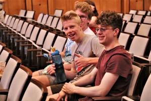 2018 Deutsche Brass Band Meisterschaft Jugend Brass Band BlechKLANG im Publikum