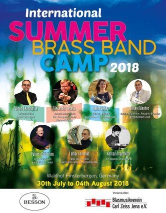 International Summer Brass Band Camp 2018