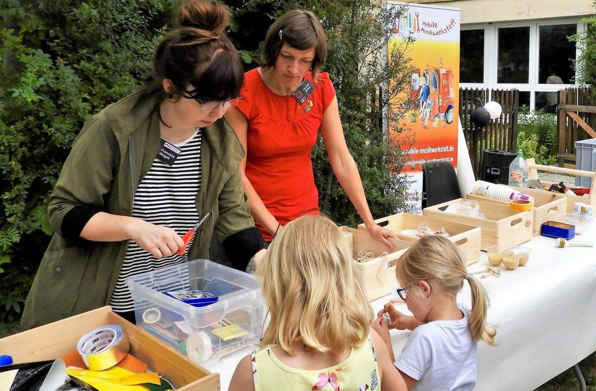 Mobile Musikwerstatt entwickelt sich in Jena (5)