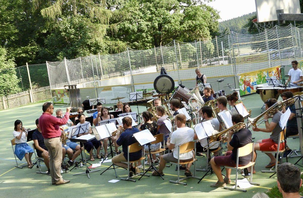Abschlusskonzert des International Summer Brass Band Camp 2018 (1)