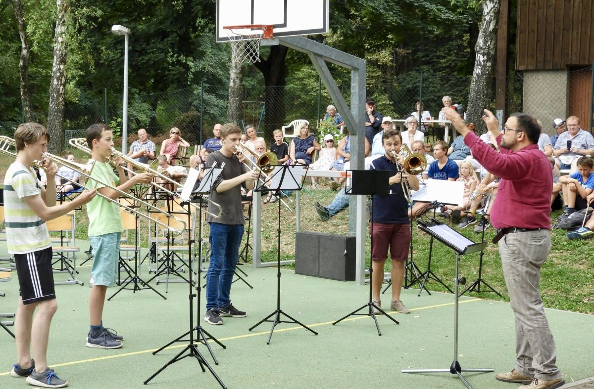 Abschlusskonzert des International Summer Brass Band Camp 2018 (1)