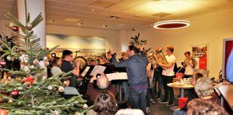 Jugend Brass Band BlechKLANG Lebendiger Adventskalender 2018 - Titelbild