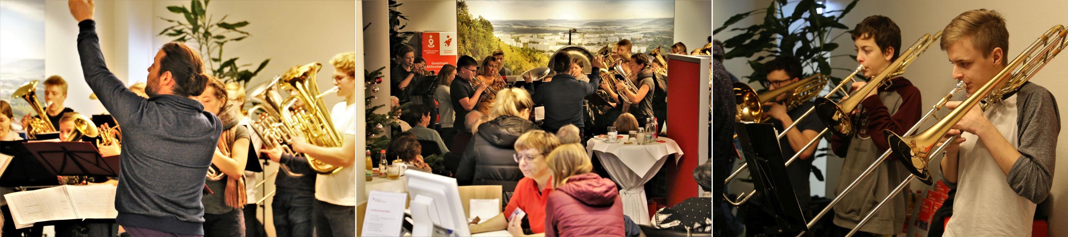 Jugend Brass Band BlechKLANG Lebendiger Adventskalender 2018 - Zusammenstellung