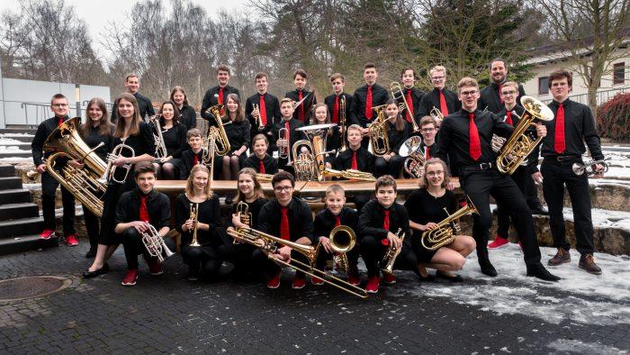 aufnachMONTREUX Jugend Brass Band BlechKLANG bereitet sich auf Europäische Jugend Brass Band Meisterschaft vor