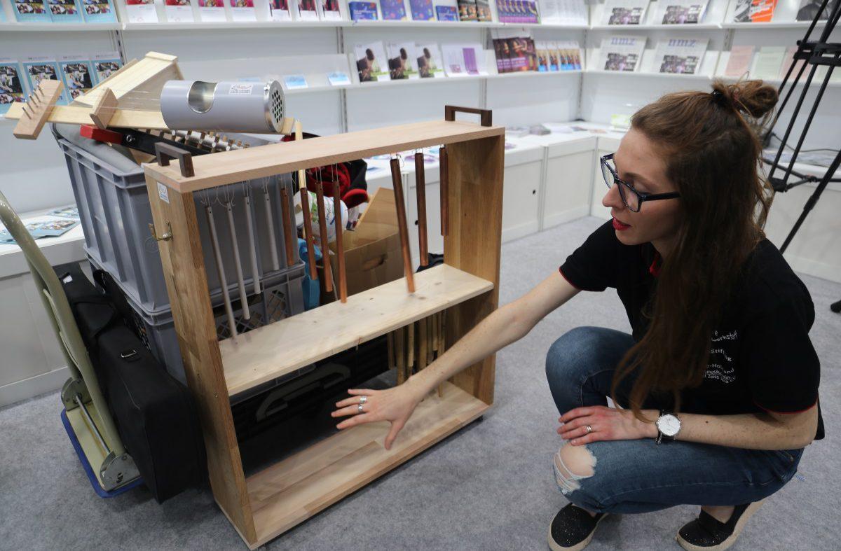 Mobile Musikwerkstatt der Orchesterschule KLANGwelt zu Gast auf der Leipziger Buchmesse (1)