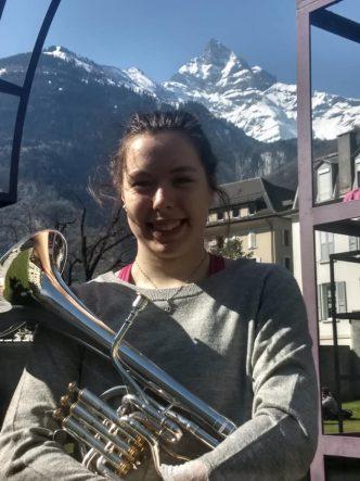 Anabel Voigt beim Swiss Alto Horn Festival