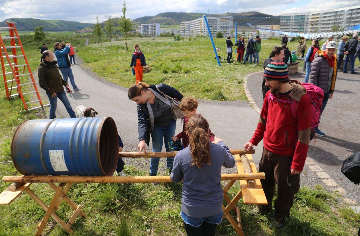 72 Hour Urban Action Lobeda mit KLANGgarten und Mobiler Musikwerkstatt Jena (1)