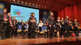 Jugend Brass Band BlechKLANG in Montreux