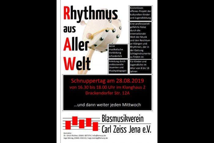 Rhythmus aus Aller Welt Orchesterschule KLANGwelt