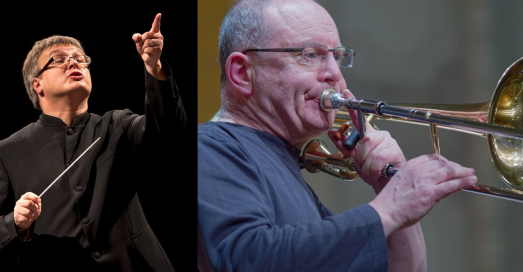 Philippe Bach und Chris Houlding Sommer Brass Band Camp 2020