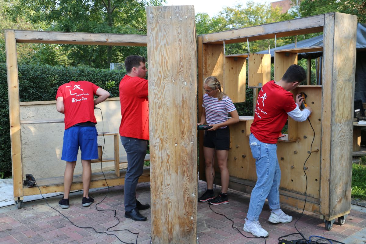 Jenaer Freiwilligentag im KLANGgarten Blasmusikverein Carl Zeiss Jena (1)