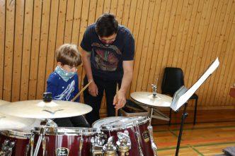 Schlagzeugunterricht Orchesterschule KLANGwelt