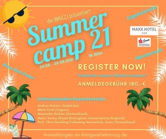 Einladung zum Summercam 21